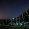 【天体撮影記 第115夜】 大分県 旧豊後森機関庫 静かに佇む蒸気機関車とオリオン