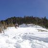 雪山登山 - 甲武信岳