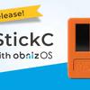 M5StickC with obnizOSが標準でクラウド接続対応に(販売は終了)