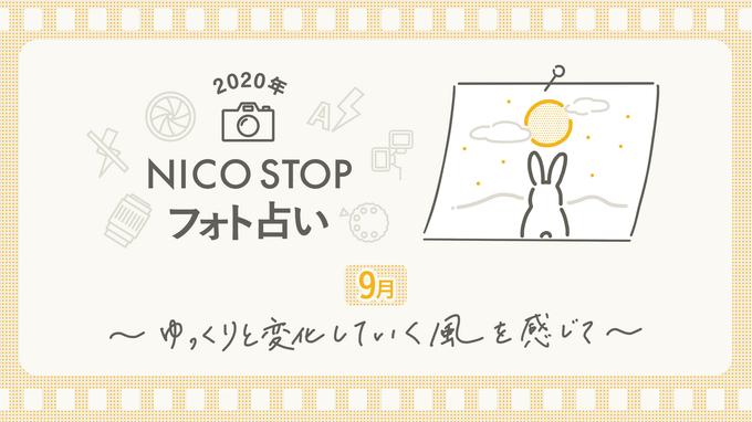 9月のNICO STOPフォト占い|ゆっくりと変化していく風を感じて