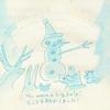 リスと雪だるまのクリスマス(7)