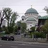 【セルビア】聖サワ大聖堂と聖マルコ聖堂  普段は撮影禁止の聖堂内