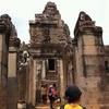 【カンボジア】アンコールトムにちょっと寄った編
