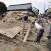 余震165回、234棟損壊…1300人が避難