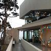 【機張カフェ】オーシャンビューカフェのテラス席で海を眺めながらティータイム