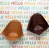 恐竜の足あとの器 Let's enjoy both Origami and English!