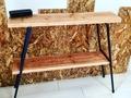 【作ってみた】鉄脚と足場板でおしゃれな棚をDIY