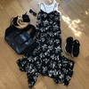【30代ファッション】マキシワンピを街で着る!