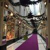 クリスマス一色!ナント観光の際は映画の舞台にもなったパッサージュポムレへ。