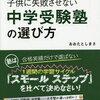 【中学受験ブログ】塾選び、無料説明会に行く前に読んでおきたい本