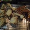 幸運な病のレシピ( 954 )夜:キス紫蘇巻き・白身魚天ぷら、エビ・ハツ唐揚げ、ビンチョウマグロ紫蘇ポン酢、汁仕立て直し、日本酒