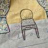 「いすと猫のフレーム④」リバティプリントでハンドメイド69号
