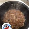 炊飯器ご飯:牛丼