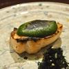 青山の「日本料理 太月」でショートコース(桜ますの木の芽味噌田楽、そら豆の胡麻豆腐、ほたるいかのちらし寿司、)。