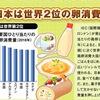 東京新聞大図解シリーズ(世界に広がる生卵の食文化)はじめの記事の見出しは「日本は世界2位の卵消費大国」.そして,メキシコが世界1位!  知りませんでした.日本の第2位という順位は,この15年間ほぼ変わらず,2013年のみ3位.メキシコの卵料理としてはウエボス・ランチェロスが有名で,一般の英語辞典にも掲載されています.しかし,もちろん他にもたくさんの卵料理が食べられているようです.