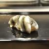 豊洲の「寿司大」でお好み20(新子5枚付け、胡麻鯖、ヒメマス他)。