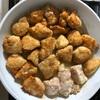 子どもたちが喜ぶ鶏ムネ肉の揚げ焼き。