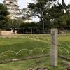 【福山の風景】晩秋の福山城と昭和の書体