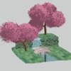 【Blender #35】アニメ調の木の作り方