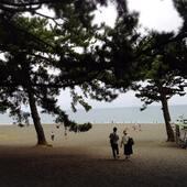 清水の三保の松原にポケモン捕まえに行ってみた。