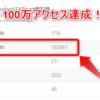 【WOT】ブログ100万アクセス!ありがとうございます^q^【プレゼント企画】