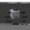 【Blender】【基本操作】Pie Menuを有効化する方法と簡単な使い方