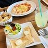 再訪 Vida  CAFEのモーニングとピザ