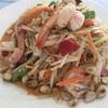 タイの酸っぱ辛いサラダ⁉︎ ソムタム ส้มตำ Som Tam