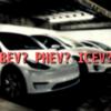 EV、BEV、FCVなどなど。車の動力方式を表す略称を分かりやすいようにまとめました。