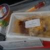 機内食オンパレード