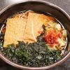 11月6日(火)「ゆで太郎」のきつねそばと、「晩杯屋」の姫カサゴ煮付け。