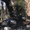 【W400】初めてのバイクカスタム ハンドル交換