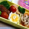ヨメさん弁当〜豚丼の具・ゆで卵〜