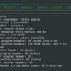 TUIベースのELF解析ツールを作りました