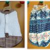 初の洋服作り