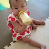 【三女】1歳0ヶ月/定期健診日、まさかのど真ん中入り。