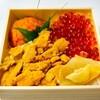 うにの貝焼き食べくらべ弁当(いわき駅)@京王百貨店新宿店