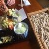 山形県の蕎麦茶屋「よしてい」で巨大海老天と外一蕎麦をいただいてきました
