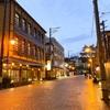 【2020.10 新潟旅行記③】電車とバスを乗り継ぎ月岡温泉へ!夜の足湯を楽しむ。
