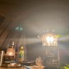 強風キャンプ 友達をキャンプ好きにするイベントの真夜中に吹いた突風にカマボコテントが耐えてくれました。