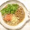 「納豆たぬきさくらえびそば」レシピ
