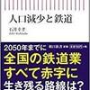 「人口減少と鉄道」(石井幸孝)