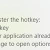 LightshotでGeneral hotkeyが設定できない