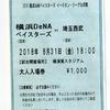 2018年8月31日 埼玉西武vs横浜DeNA (横須賀) の感想