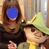 スカイツリーの中にある「ムーミンカフェ」でキャラクターと一緒に母娘で楽しくランチo(♡´▽`♡)o