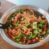 ケト18日目(-5kg):ブロッコリーメインのチョップドサラダのレシピ