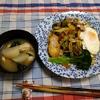 幸運な病のレシピ( 2444 )昼: キムチ味のキャベツモヤシ炒め