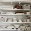 食器棚の収納(上段)の変化