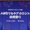 【オンラインMeetup イベントレポート】第二回 AWSマルチアカウント事例祭り