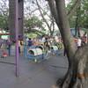 モラエスの故地を訪ねて(64)公園内を楽しむ人々。